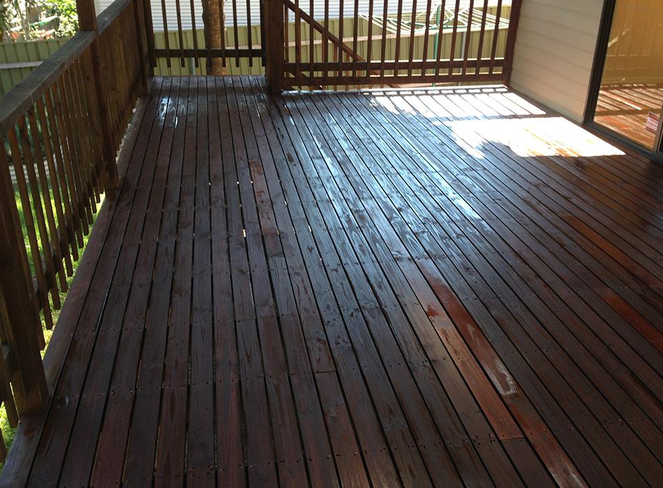 Floor Sandiing Newcastle - Deck 2