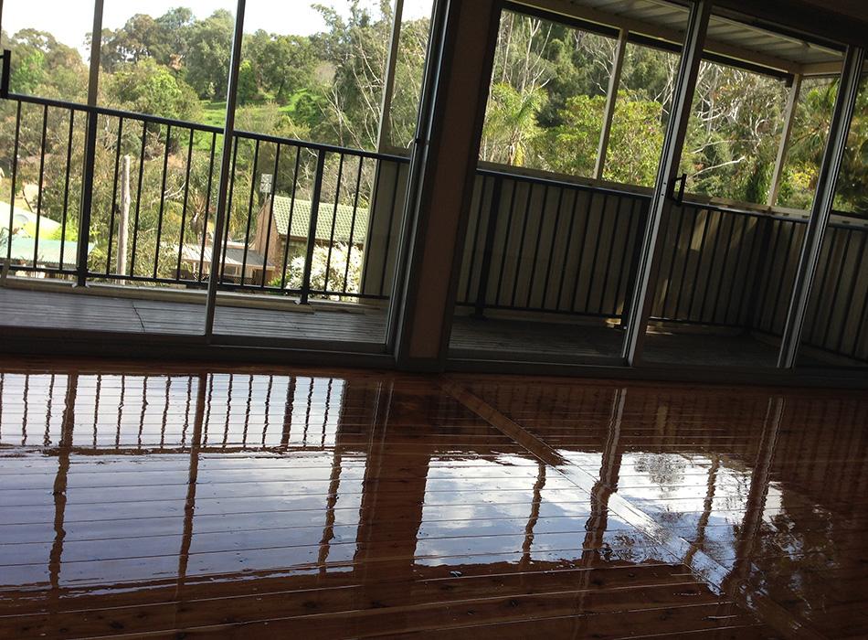 Floor Sandiing Newcastle - Polishing 1